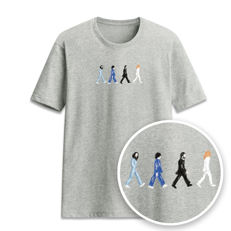 走路四人短袖衫-GT270