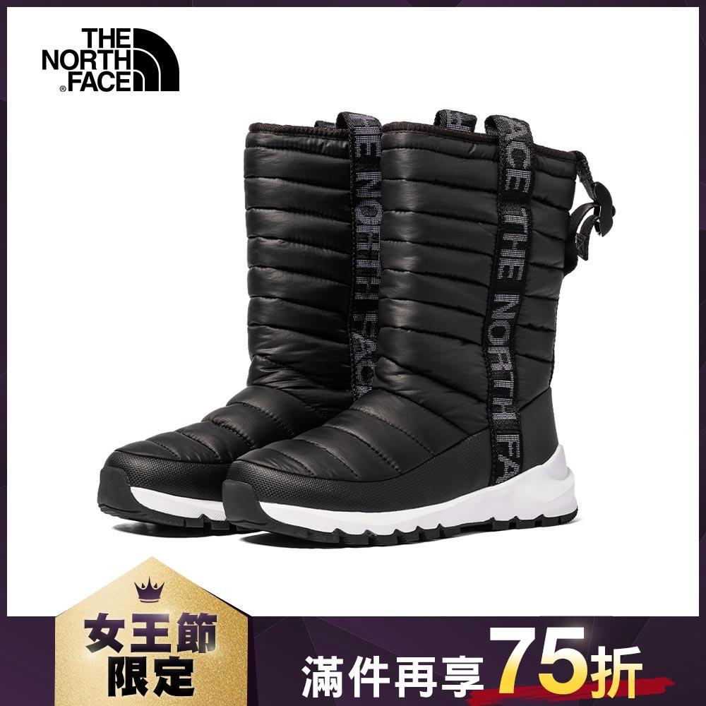 The North Face北面女款黑色防潑水保暖長靴|4O9CKY4