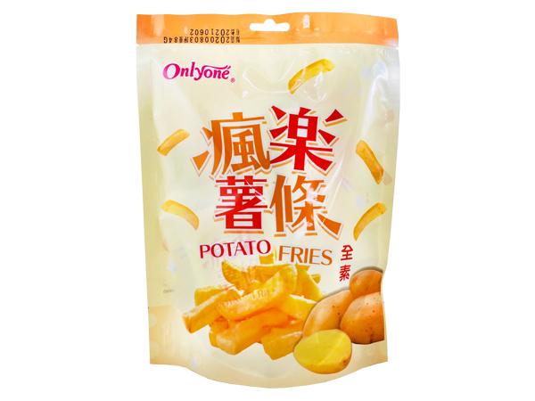 台灣海龍王~瘋樂薯條(84g)【D911258】