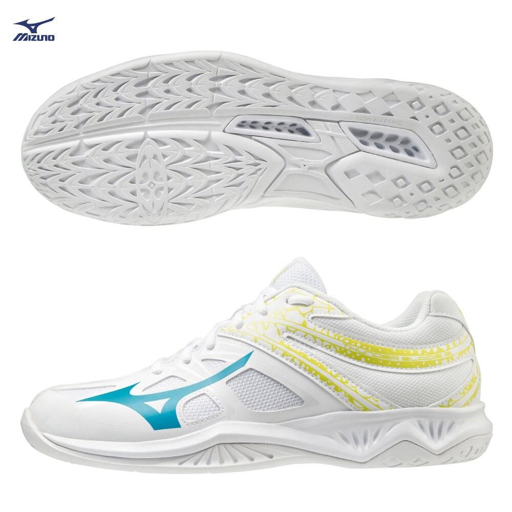 MIZUNO THUNDER BLADE 2 男鞋 女鞋 排球 2.5E 中底發泡 白【運動世界】V1GA197022