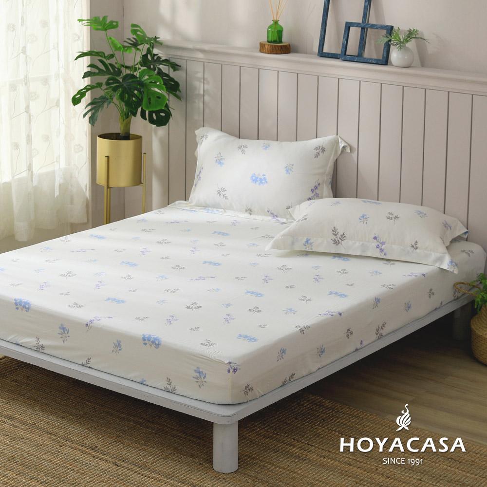 雙人 / 100%天絲床包枕套三件組 / 伊芙琳(全B版) / HOYACASA