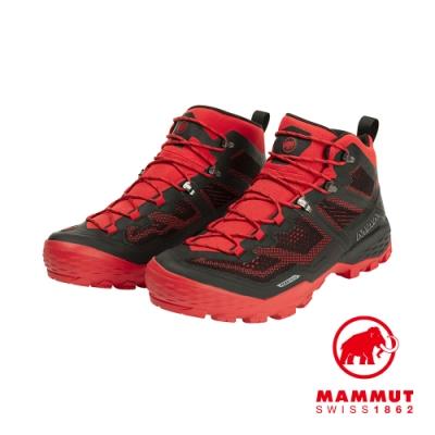 【Mammut 長毛象】Ducan Mid GTX 中筒登山鞋 男 辛辣紅 #3030-03540