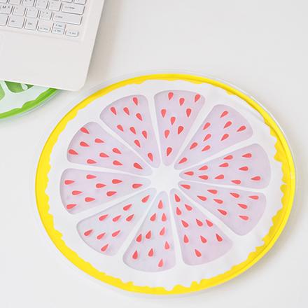 [現貨] 夏日涼感凝膠墊冰墊坐墊 降溫神器超可愛水果西瓜檸檬款 當寵物墊也能用【QZZZ7071】