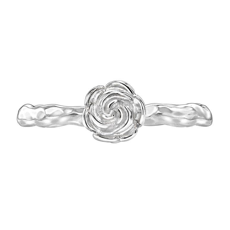 Wild Rose Stacking Ring