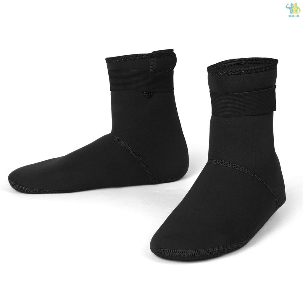 Bf / 潛水襪 3mm 氯丁橡膠游泳襪泳裝沙灘游泳潛水衝浪浮潛保暖浮潛襪