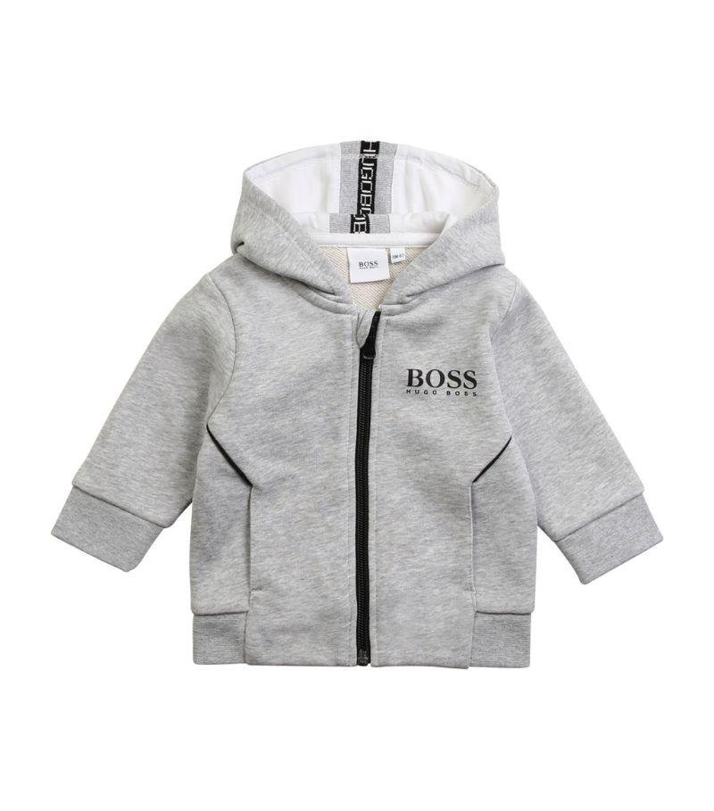 Boss Kidswear Logo Zip-Up Hoodie (3-36 Months)