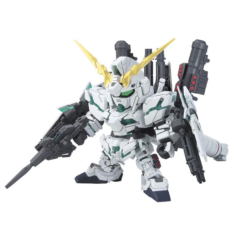 萬代拼裝模型 SD高達BB390 FullArmorUnicorn 全武裝全裝備獨角獸