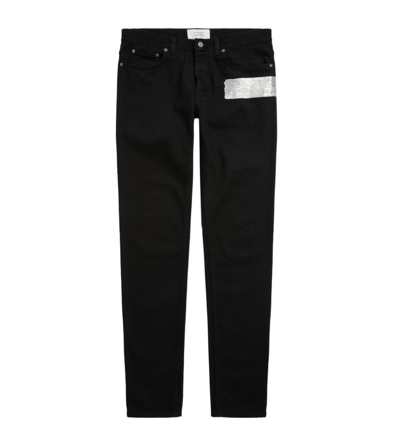 Givenchy Brushed Logo Skinny Jeans