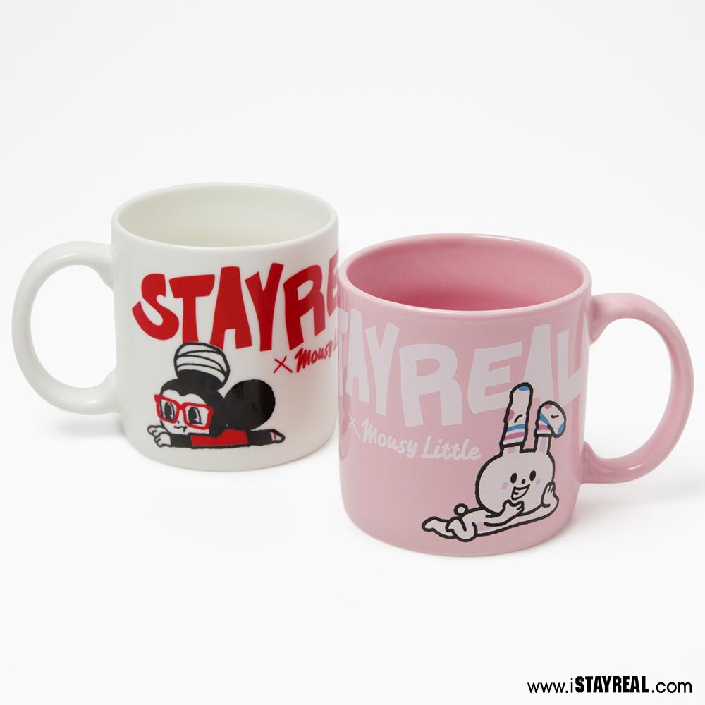 STAYREAL 鼠小小&兔仔子 馬克杯