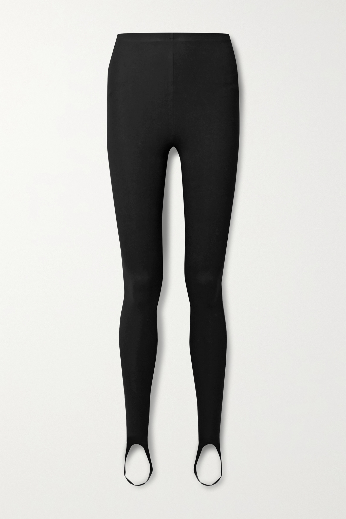 LESET - Rio Stretch-ponte Stirrup Leggings - Black - large