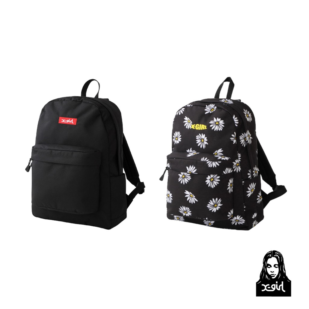 X-girl MILLS LOGO ADVENTURE DAYPACK 休閒後背包 105215053002