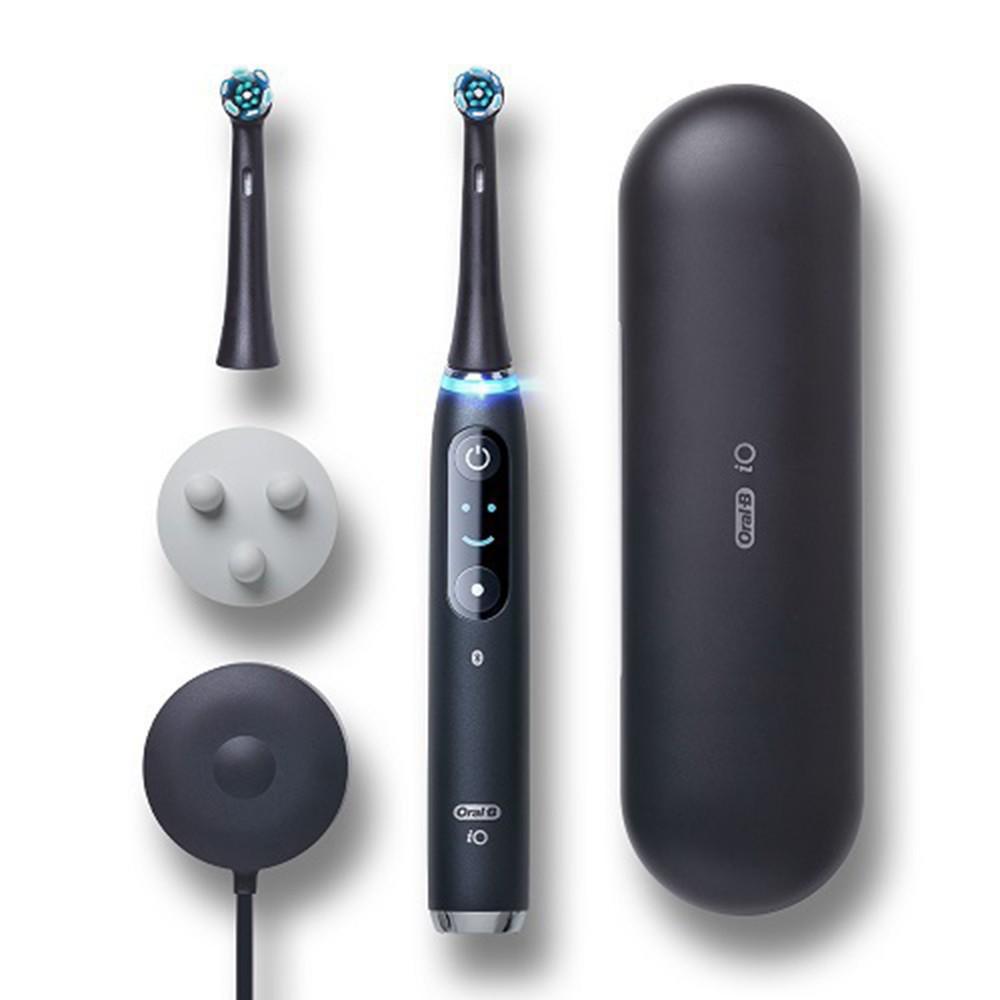 德國百靈Oral-B-iO9微震科技電動牙刷(黑色)