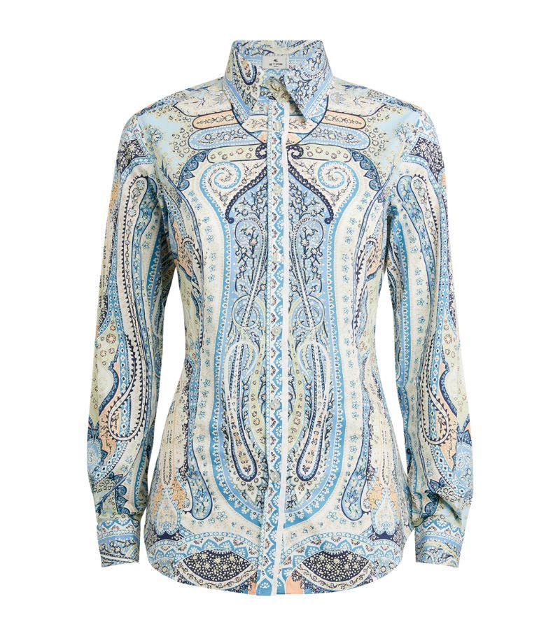 Etro Patterned Paisley Shirt