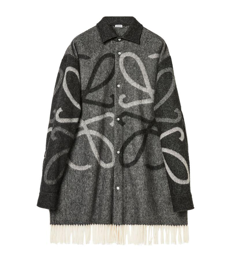 Loewe Anagram Blanket Coat
