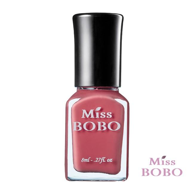 《Miss BOBO》水性可剝持色指甲油─柔玫瑰BB026