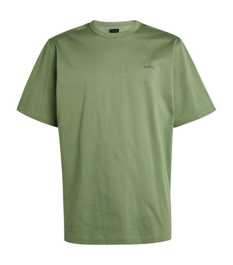 Juun.J Graphic Logo T-Shirt
