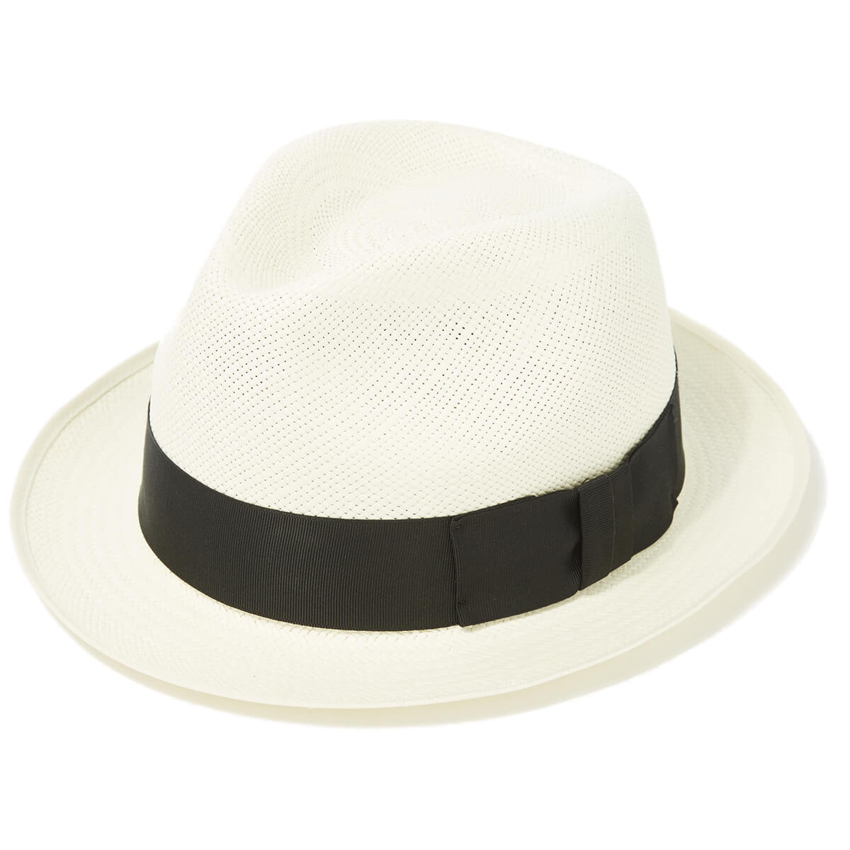 Classic Yorkie Snap Brim Panama in Size 57