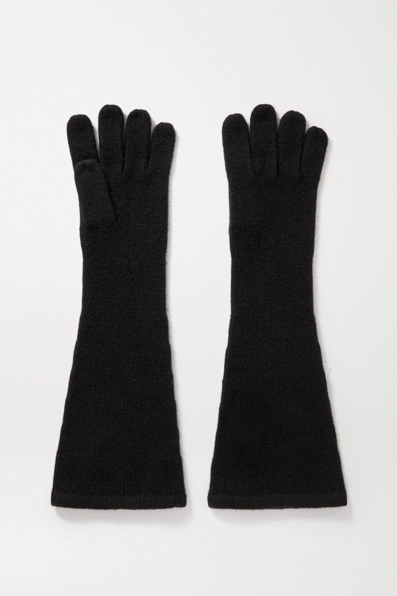 TOTÊME - Cashmere Gloves - Black - M/L