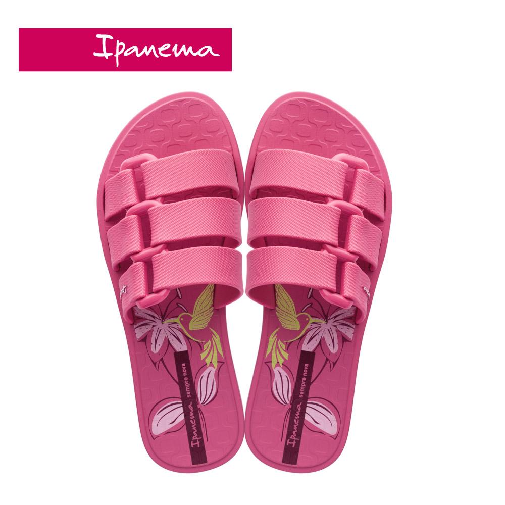 Ipanema [Women] BOLD PRINT造型印花一字拖-桃紅(2652120988)