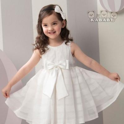 【金安德森】KA花童款禮服洋裝(白色)