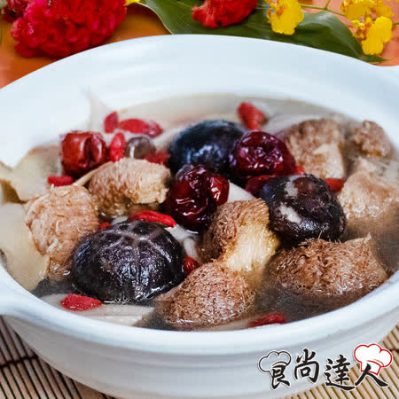 【食尚達人】麻油猴頭菇養生湯4件組(800g/包)