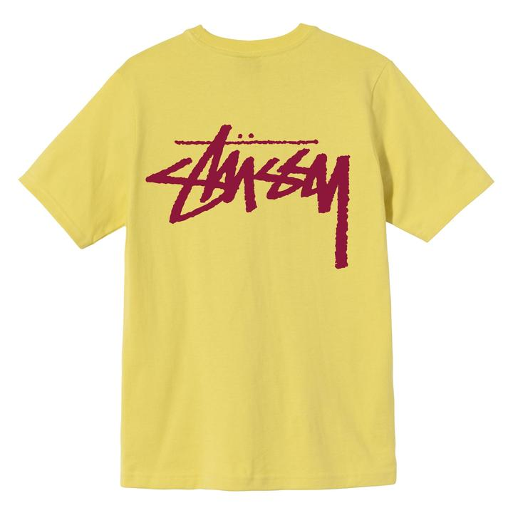 STUSSY - 2903093 CLASSIC STOCK TEE 短T (檸檬色)