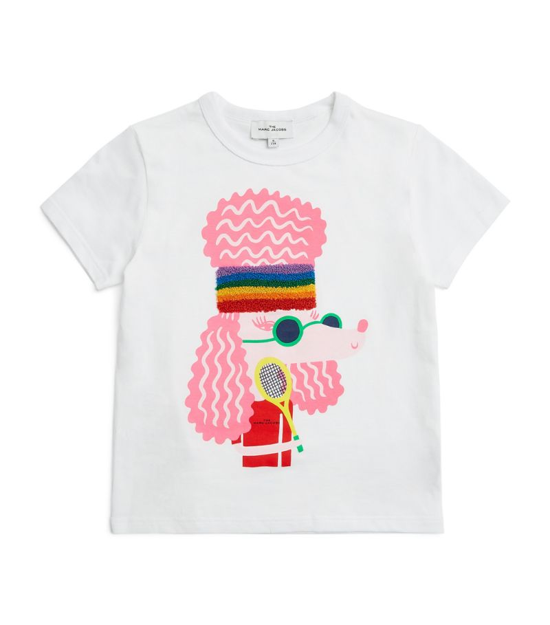 The Marc Jacobs Kids Poodle Print T-Shirt (4-14 Years)