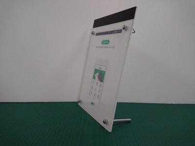 無框薄燈板/超薄燈箱/LED燈板/廣告燈箱/廣告招牌/導光板/水晶無框/A4尺寸21.5*33cm