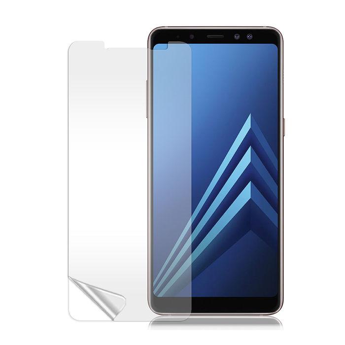 Monia Samsung Galaxy A8+ (2018) 高透光亮面耐磨保護貼 三星保護膜