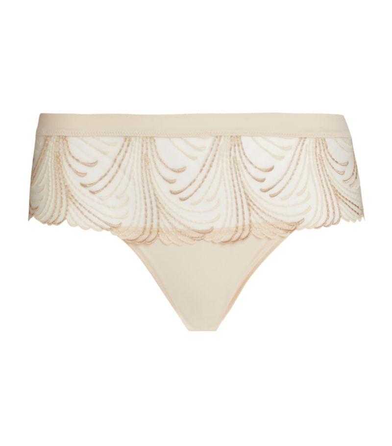 Simone Perele Nuance Embroidered Boyshort Briefs
