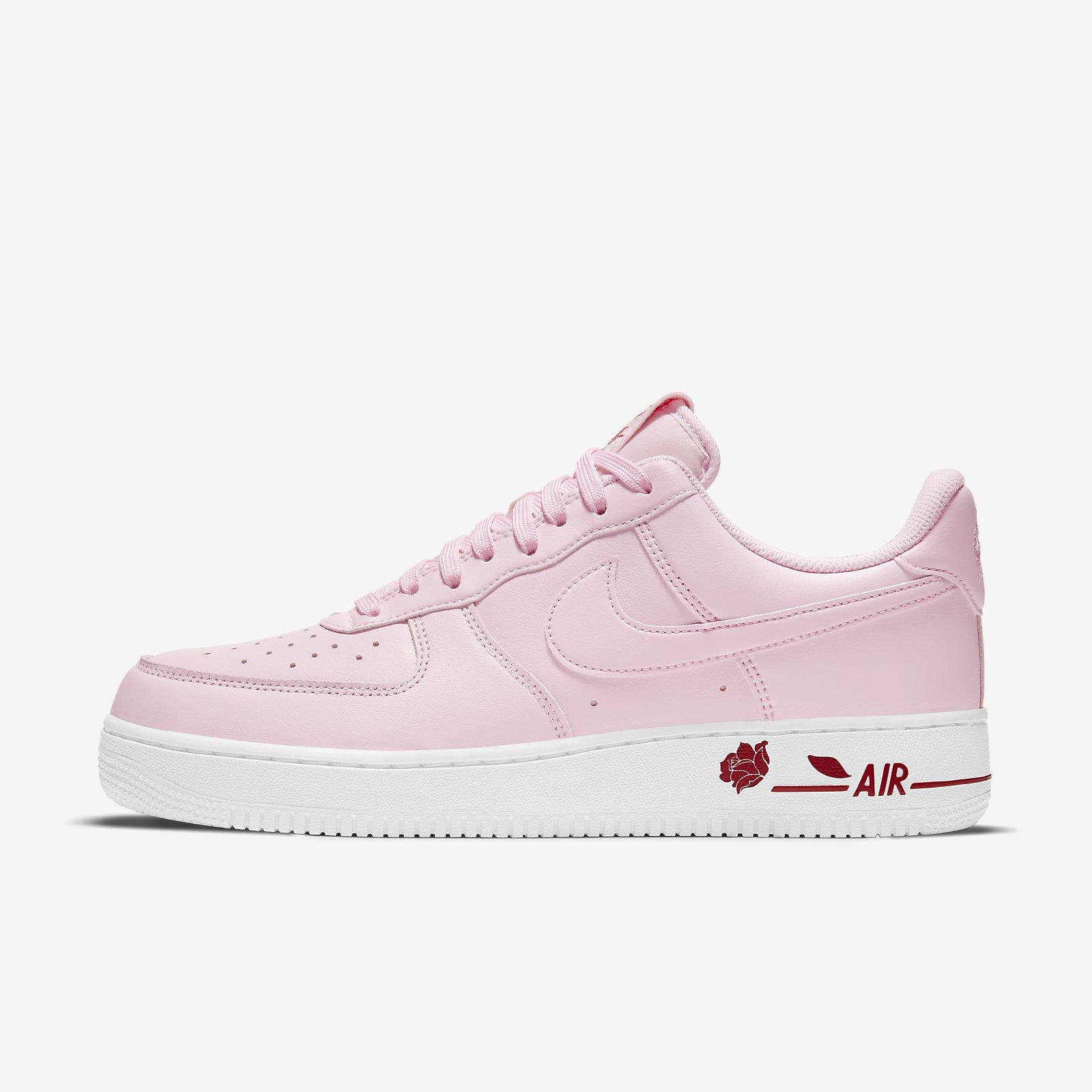 Nike 休閒鞋 Air Force 1 07 LX 玫瑰 粉 Rose 男女鞋 AF1【ACS】 CU6312-600