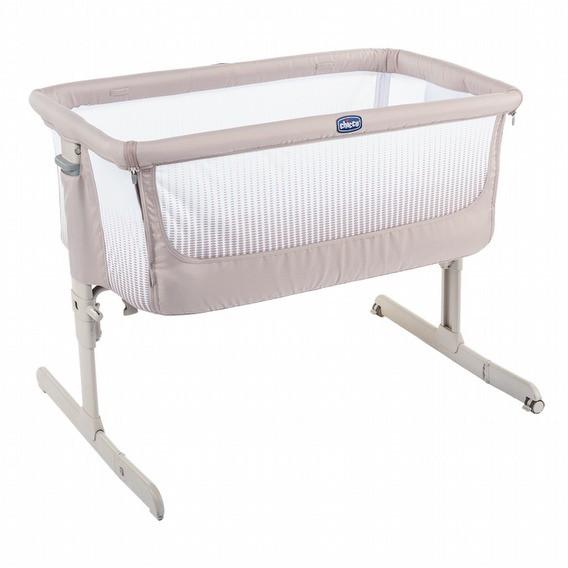 Chicco Next 2 Me多功能親密安撫嬰兒床邊床Air版-亞麻棕(CBB79620.34) 4990元加送床罩