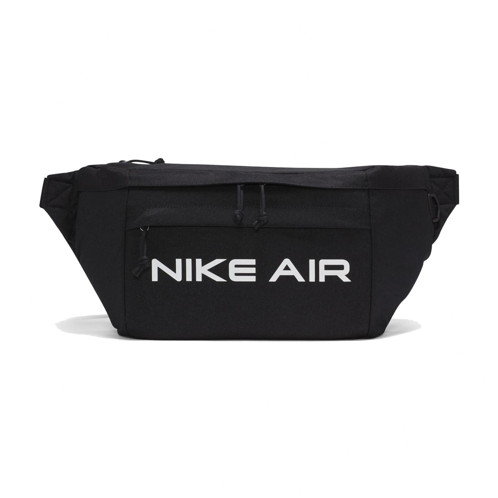 Nike 腰包 Air Tech Waist Bag 黑白 斜背包 男女款 包包 基本款【ACS】 DC7354-010
