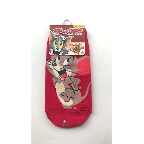 湯姆貓與傑利鼠系列直版襪【寶雅】