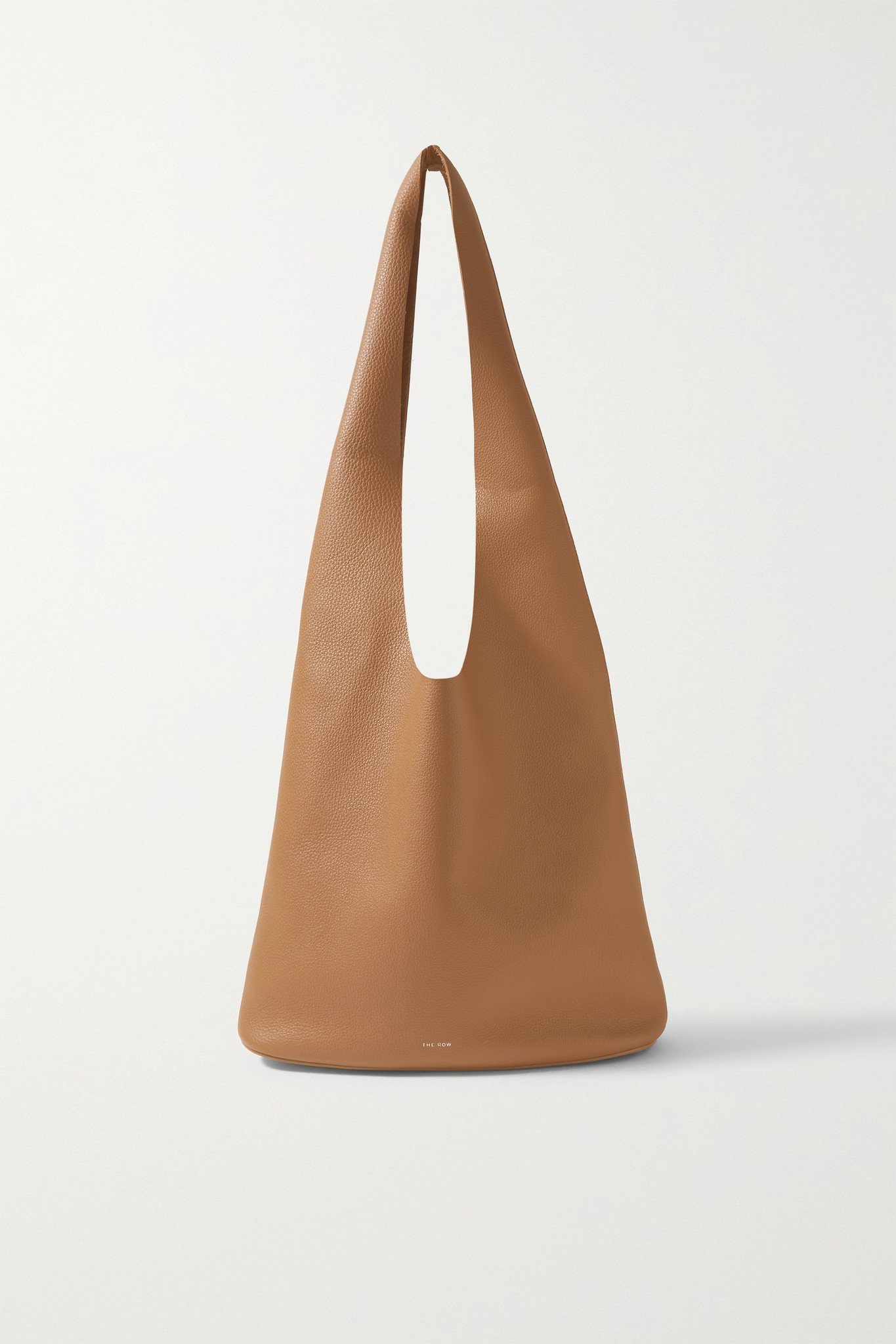 THE ROW - Bindle Three Textured-leather Shoulder Bag - Neutrals - one size