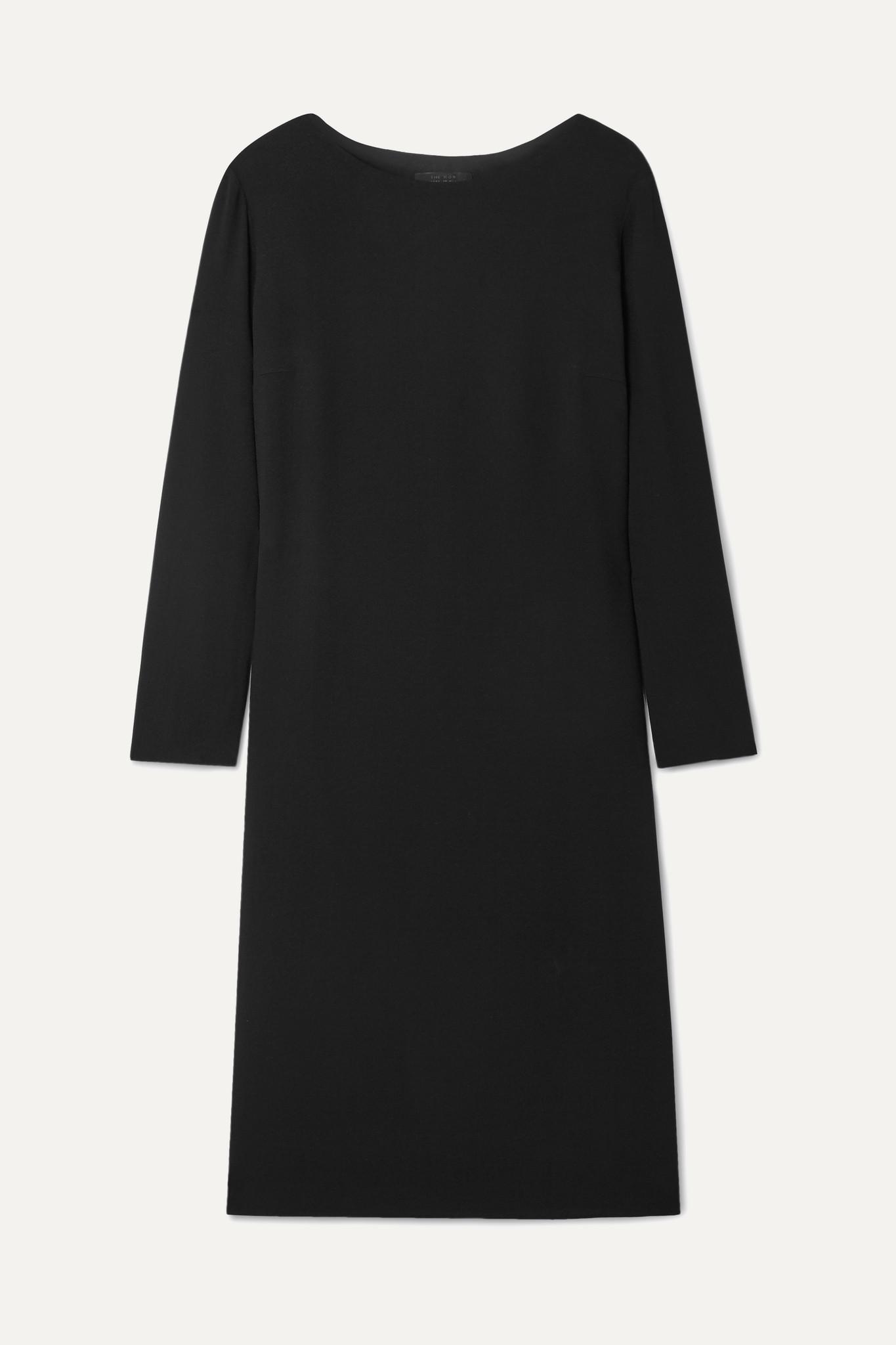 THE ROW - Larina 绉纱连衣裙 - 黑色 - US10