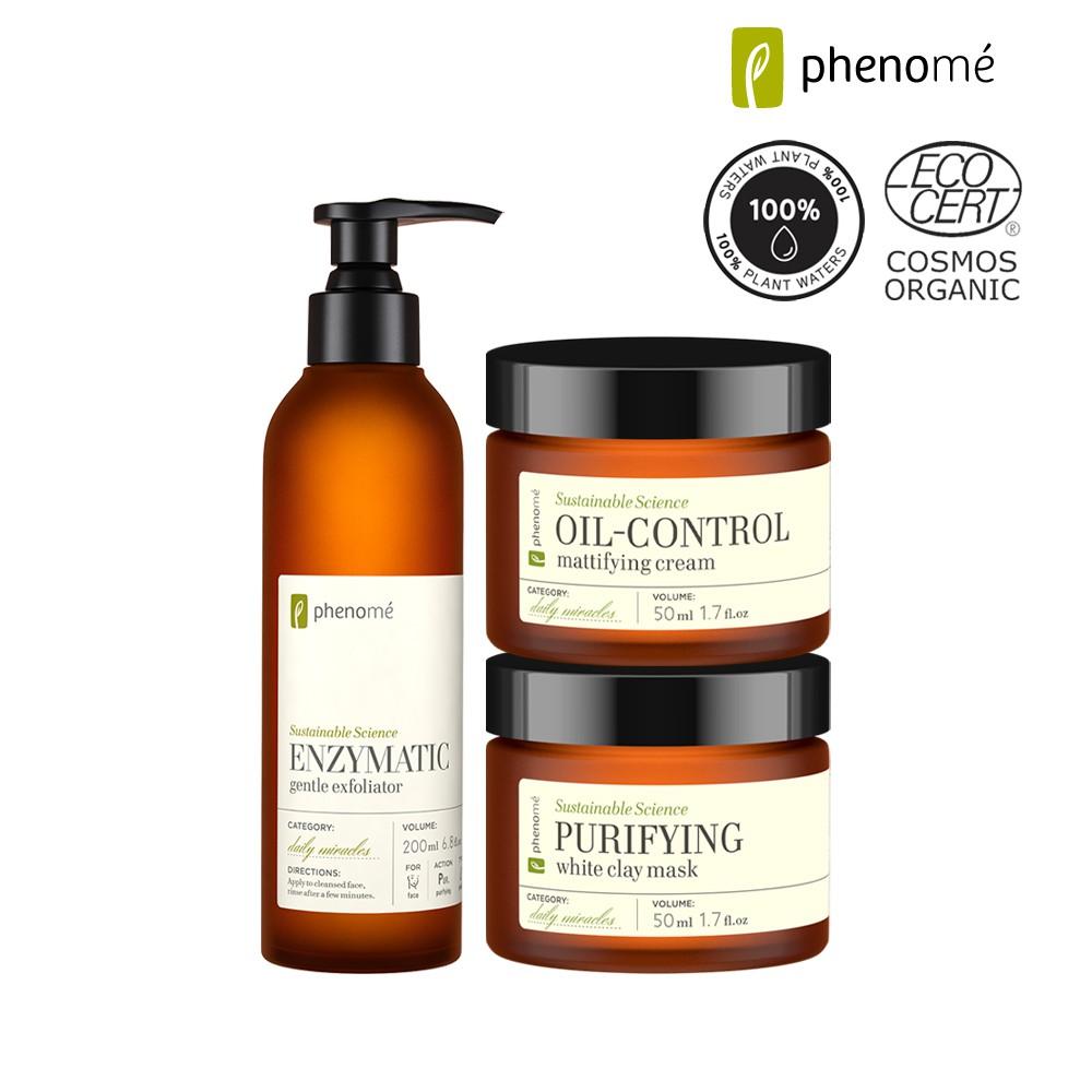 【PHENOME 梵諾美】 平衡淨肌緊緻毛孔組-福利品 (效期:2021.05.31)