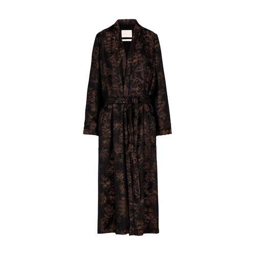 Eris Coat In Jacquard