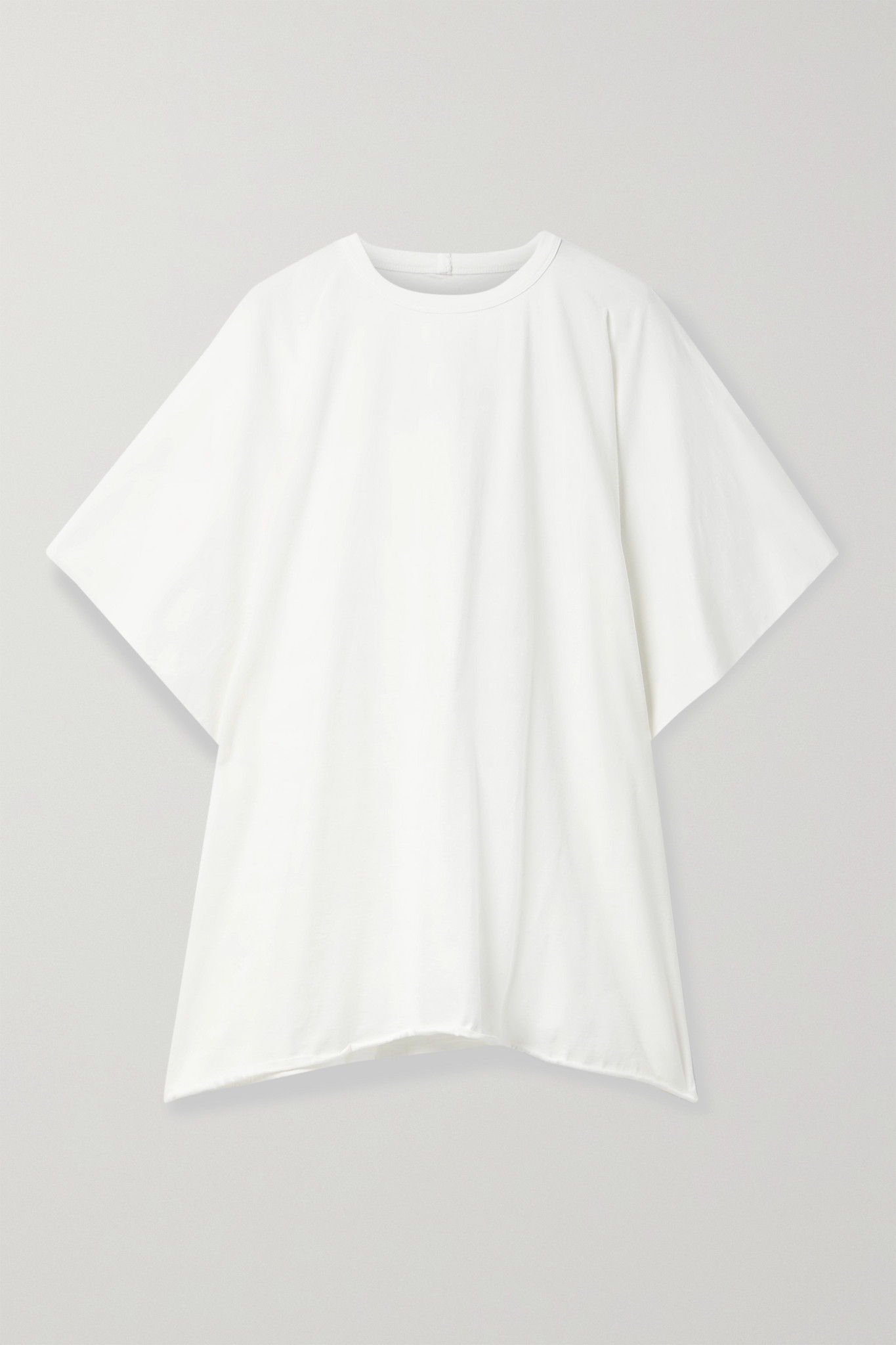 RICK OWENS - Minerva Cotton-jersey T-shirt - White - IT40