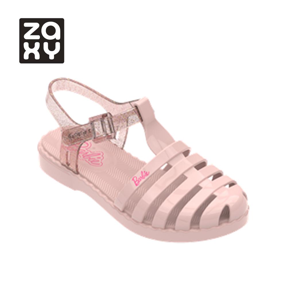 [Kids]  Zaxy X Barbie 純色漁夫鞋-粉(2245953911)