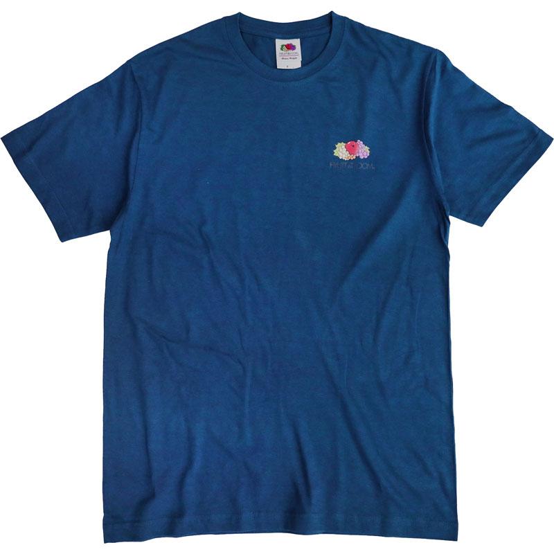FRUIT OF THE LOOM 水果牌 - ACL2100D 美國純棉 5.9oz 彩色左胸 短T (BL礦藍)