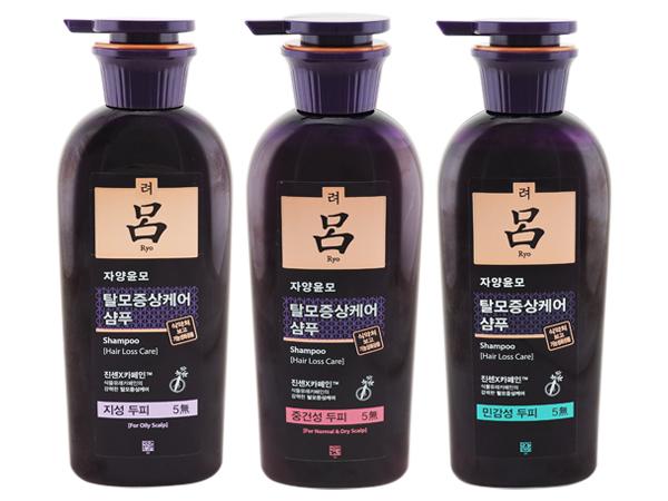 韓國Ryo呂~洗髮精(400ml) 多款可選【D255526】