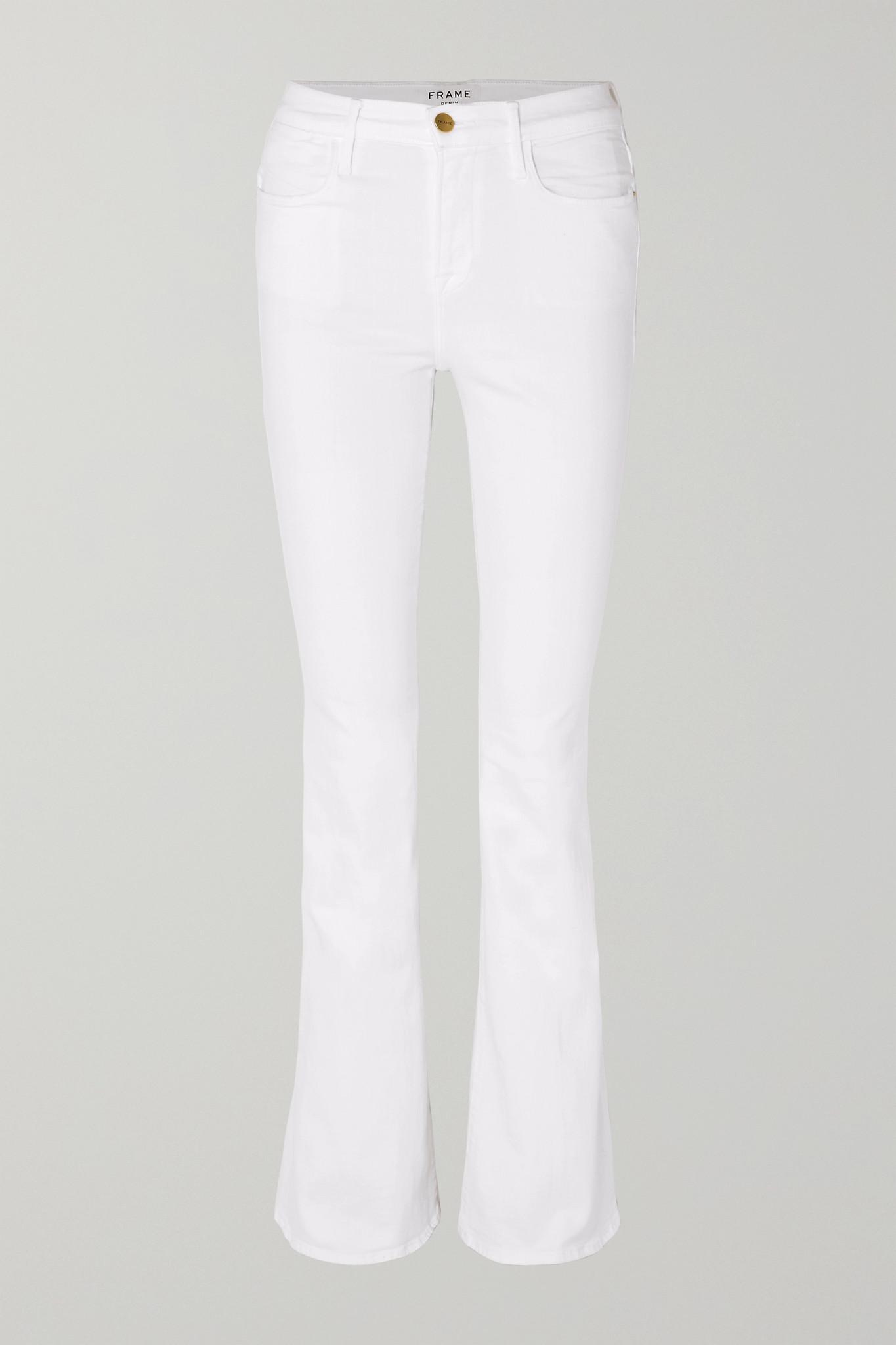 FRAME - Le High Flare 牛仔裤 - 白色 - 33