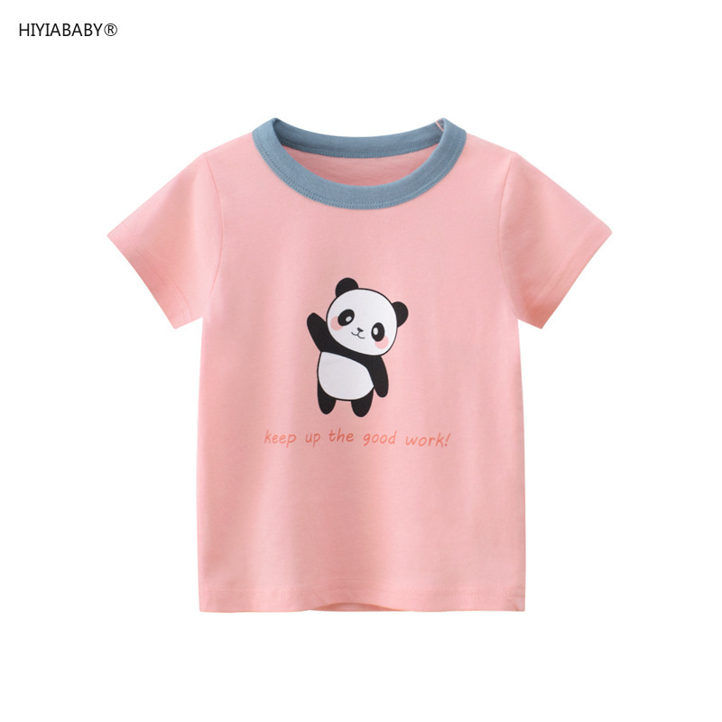 夏季新款童裝女童上衣韓版兒童短袖T恤寶寶衣服ins