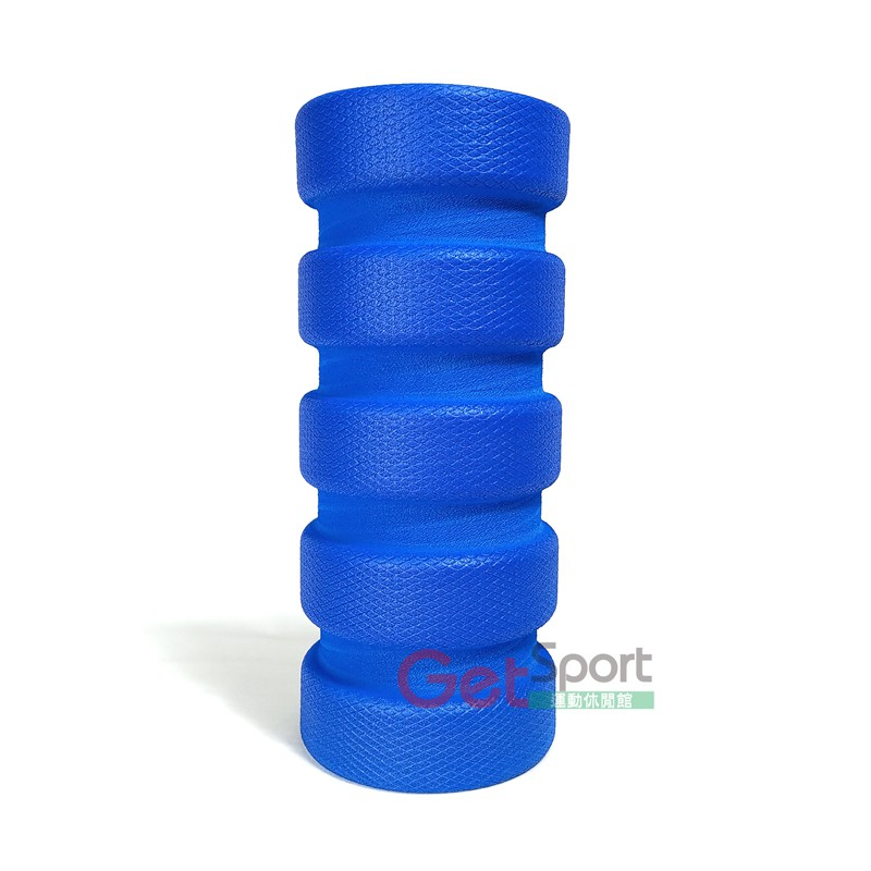 凹凸形肌力棒35公分(瑜珈柱/狼牙棒/滾筒/按摩滾輪/瑜伽滾棒/EVA泡綿/台灣製)