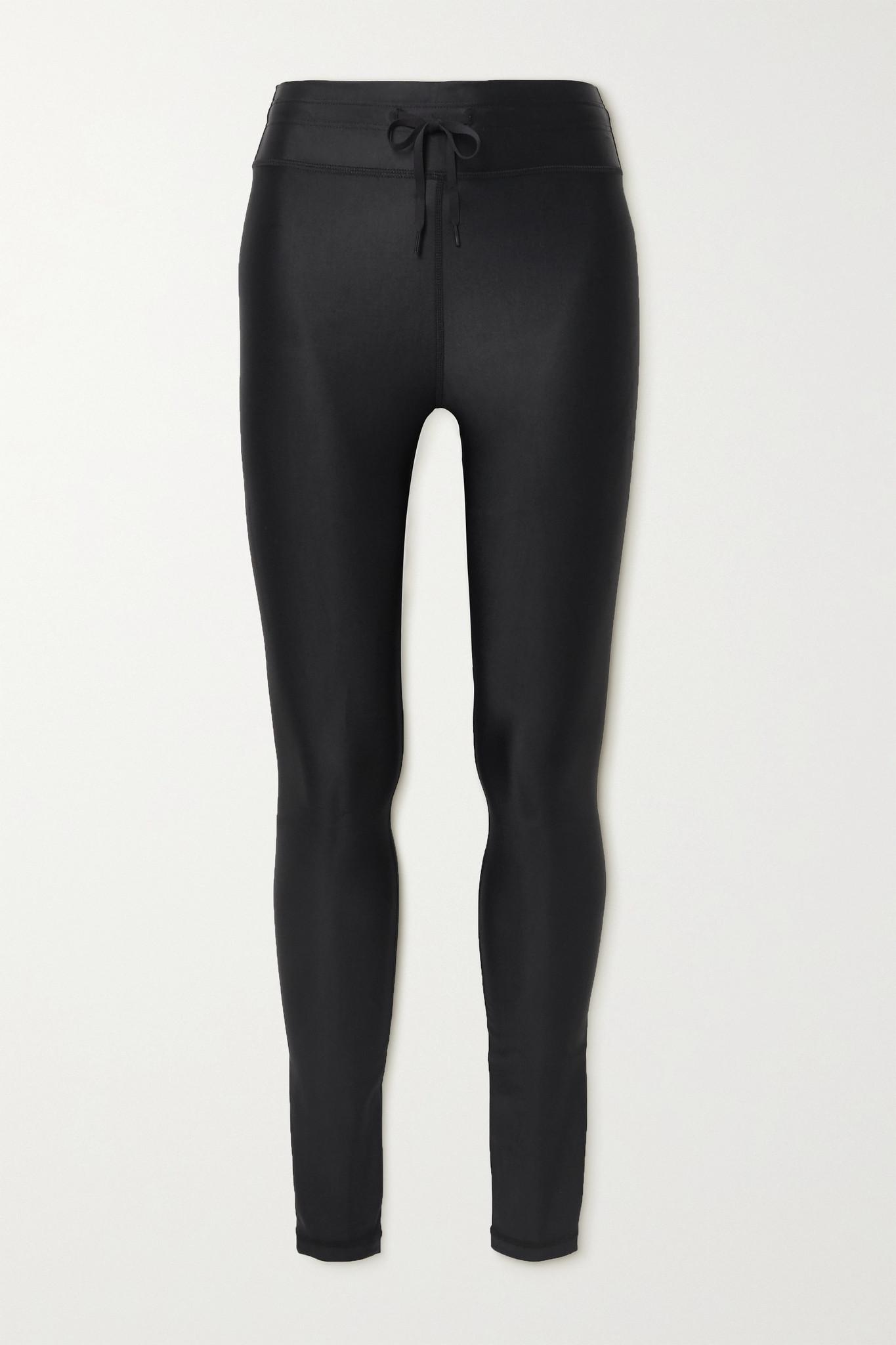 THE UPSIDE - Yoga 弹力紧身运动裤 - 黑色 - large