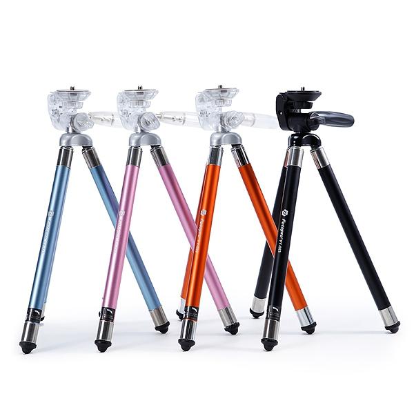 【聖影數位】FOTOPRO 富圖寶 FY-583 時尚隨身小腳架 加贈SJ80手機夾 四色可選