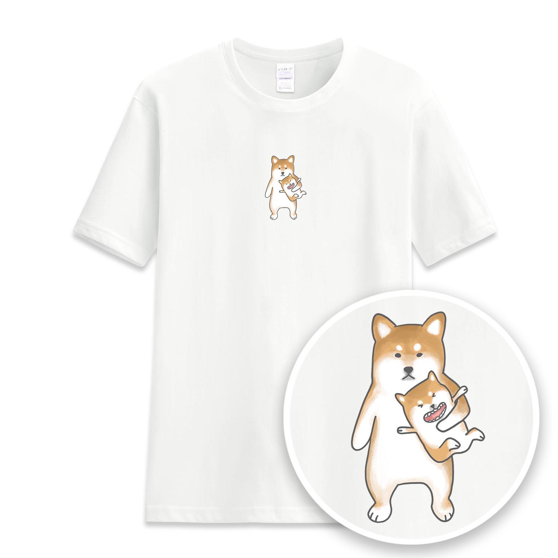 暑假的柴小孩短袖衫-GT238