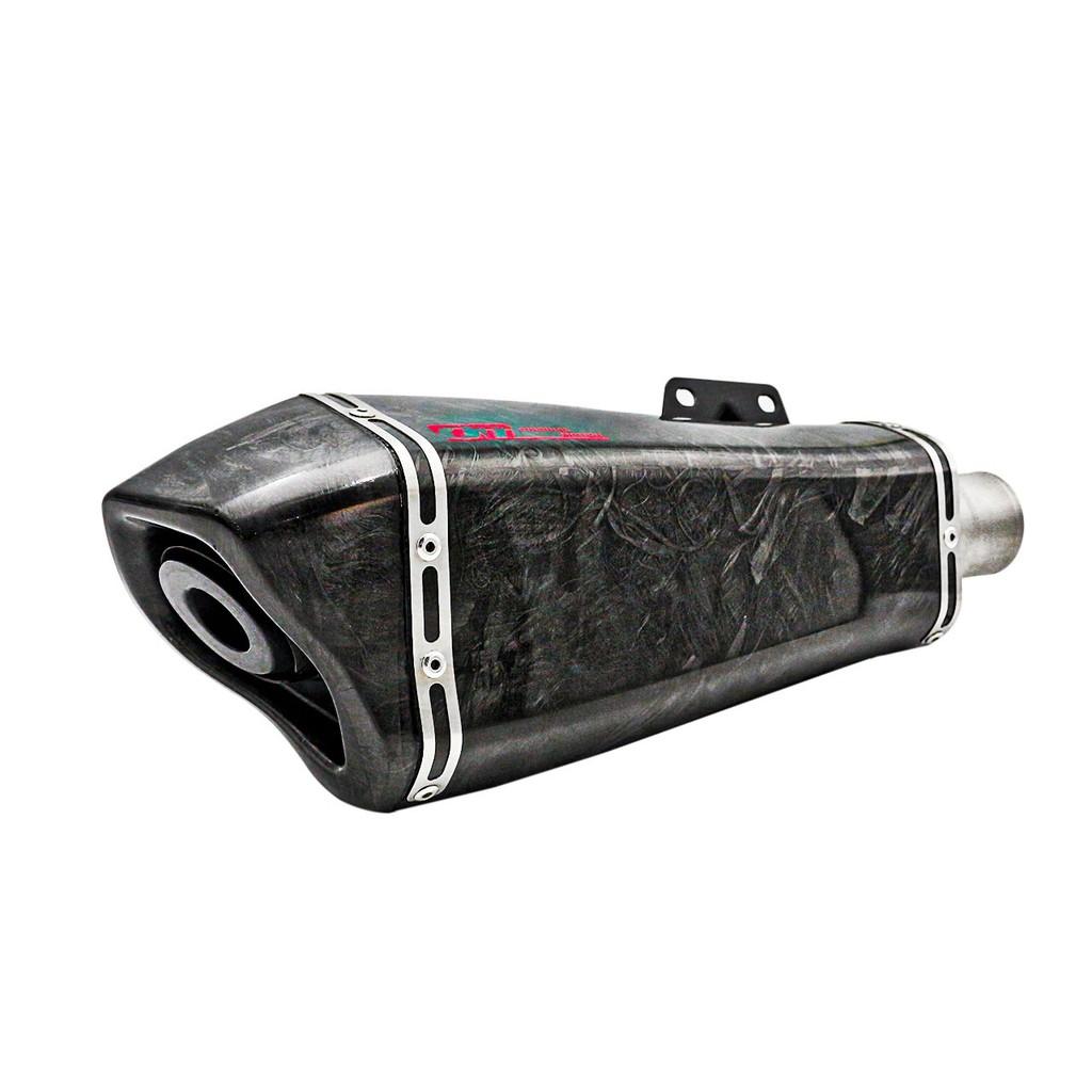 【OM銧榮】YAMAHA YZF-R3 YZF320 噪音認證 單尾段S-FOUR(含後彎) 碳纖維排氣管/加速管