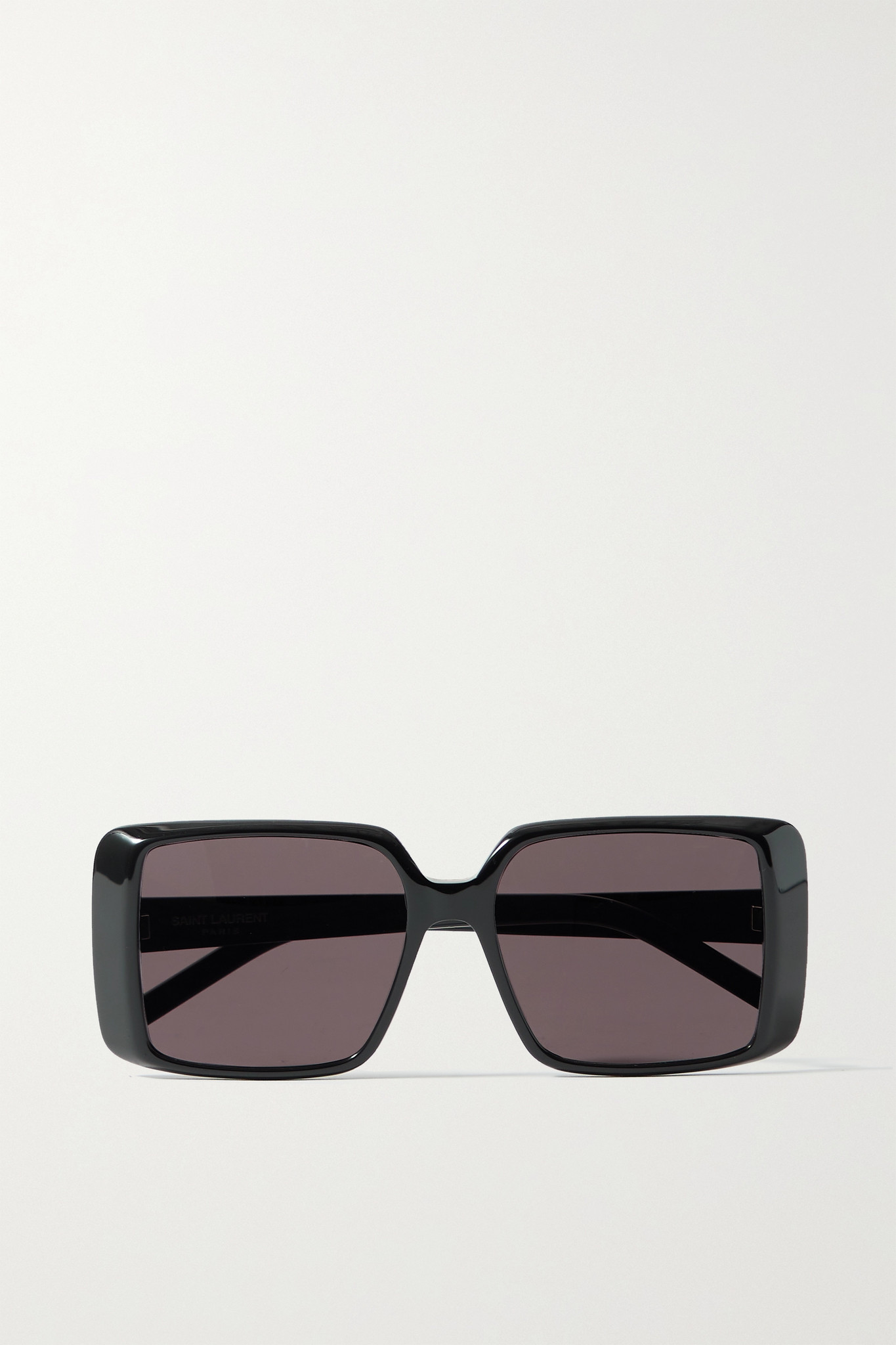 SAINT LAURENT - Square-frame Acetate Sunglasses - Black - one size